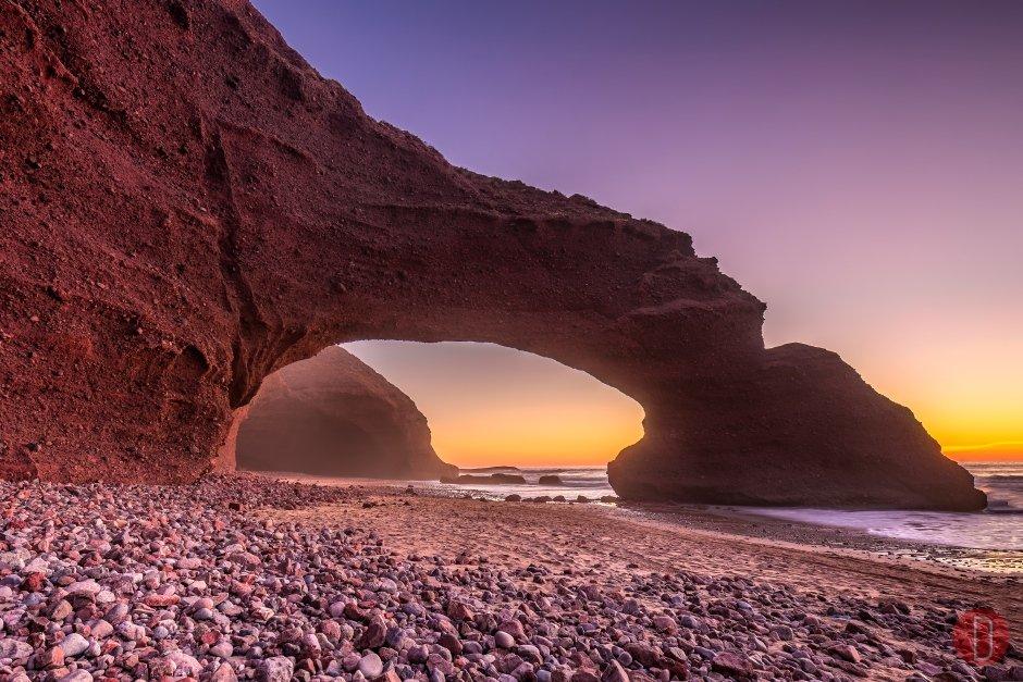 Sidi Ifni, Souss-Massa-Draa, Morocco.