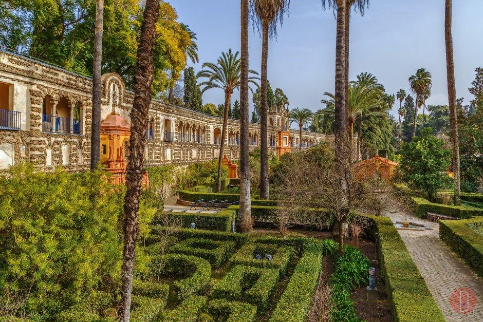 Giardino Alcazar Siviglia