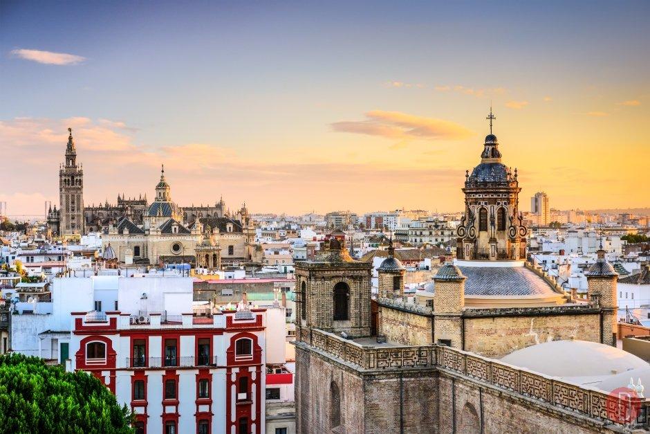 Siviglia, Spagna skyline