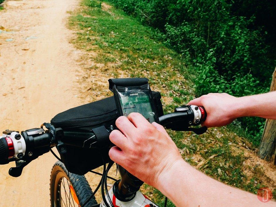 Modulo ciclistico autoguidato