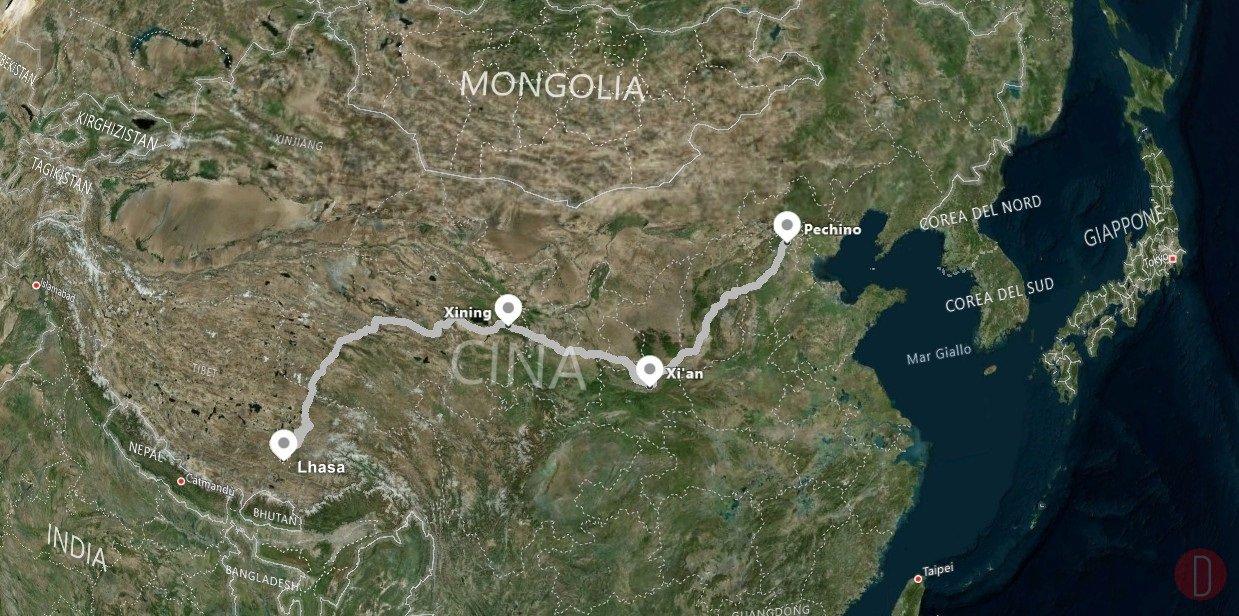 Pechino Lhasa