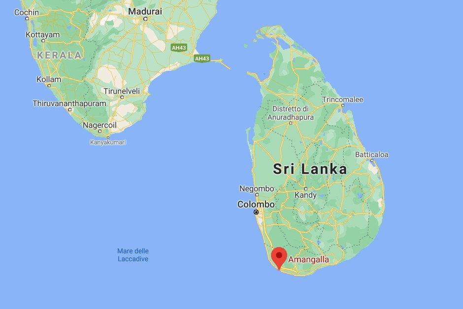 Amangalla Map