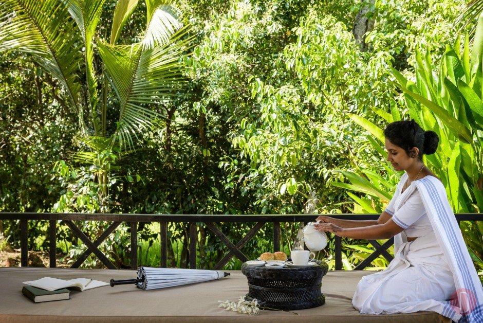 Amangalla, Sri Lanka - Cinnamon PLantation afternoon tea.