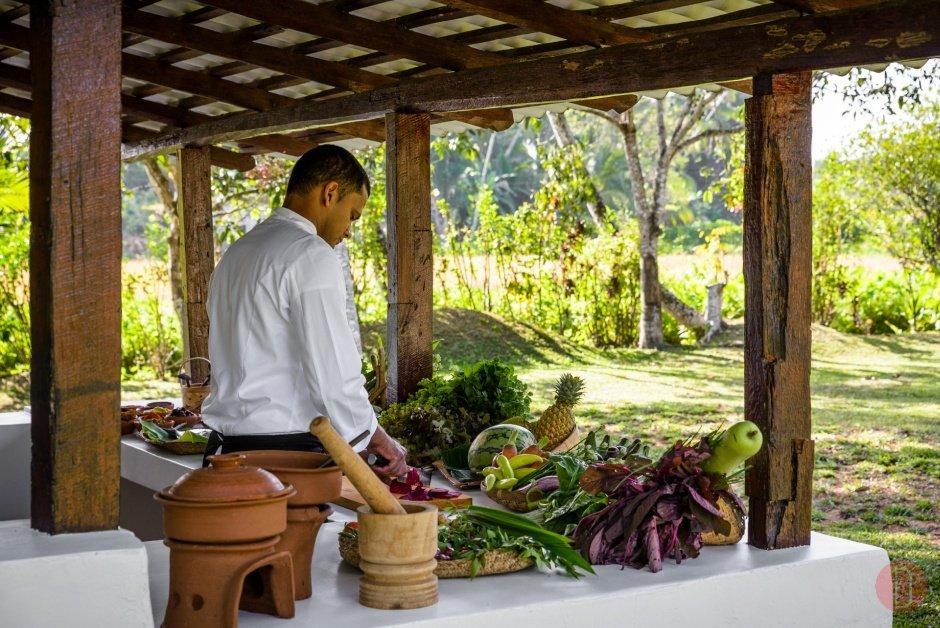 Amangalla Sri Lanka - Cooking Class.