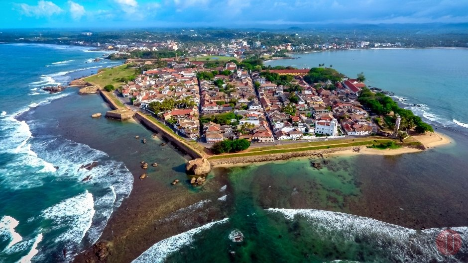 Galle,Fort,Aerial,