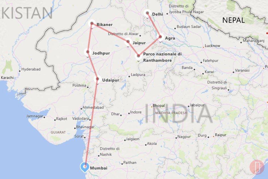 Maharajas' Express - Rotta su Bombay